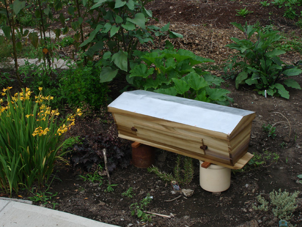 The Perfect Backyard Beehive! A TBH Provides A Way To Keep Bees And Gather  Honey With Minimal Impact To The Bees. Smoking The Bees And Wearing A Bee  Suit Is ...