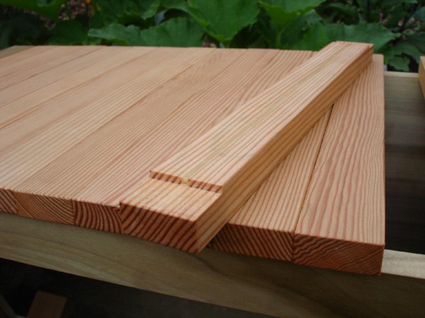 Wonderful ... Douglas Fir Top Bars And Western Cedar Feet. The Price As Shown Is  $320. All Hives Are Made To Order And Can Be Crafted From All Sorts Of  Hardwoods.