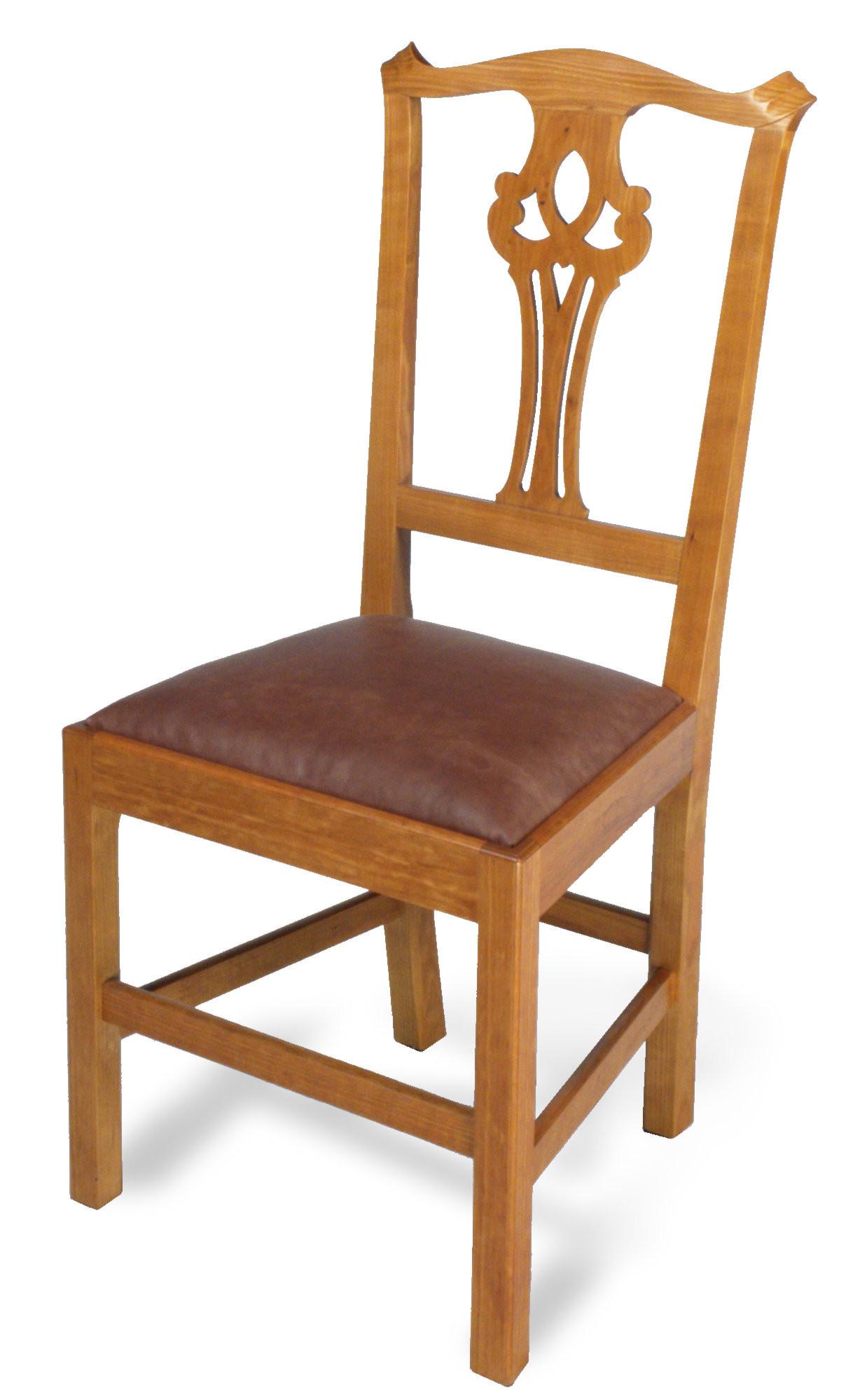 Pete E Michelinie Fine Furniture Vermont Chippendale Chair
