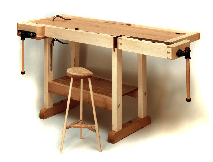 Pete E Michelinie Fine Furniture Workbench